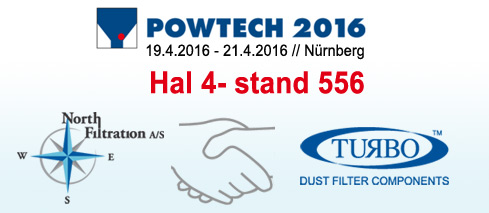 SEW North Filtration A/S on Powtech 2016