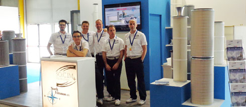 SEW North Filtration and SOCIM on Lamiera messe Italy